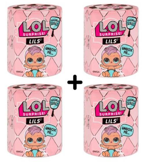 L.O.L Surprise! Lils Sisters 4 Pack £14 - Pre-order @ TheToyShop.com (The Entertainer)