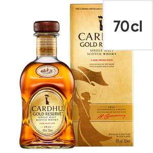 Cardhu Gold Reserve Scotch Whisky 70cl £25 Tesco