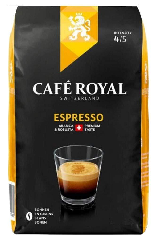 Café Royal Espresso Beans, 1 kg, Roasted Coffee Beans £6.19 + £4.49 np @ Amazon