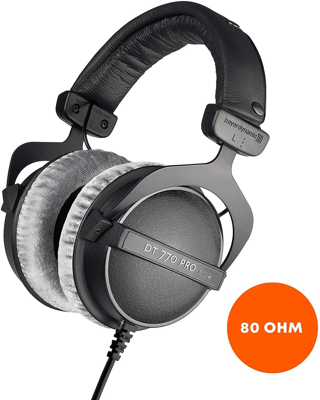 beyerdynamic DT 770 PRO Headphones - 80 Ohm - Used 'Like New' - £75.86 @ Amazon Warehouse