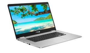 ASUS C523 15.6 Inch Celeron 4GB 64GB Chromebook - Silver £199.99, with free click and collect @ Argos