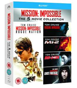 Mission Impossible 1-5 Bluray Collection - £7.99 (£7.19 for new users, with code) @ Zoom
