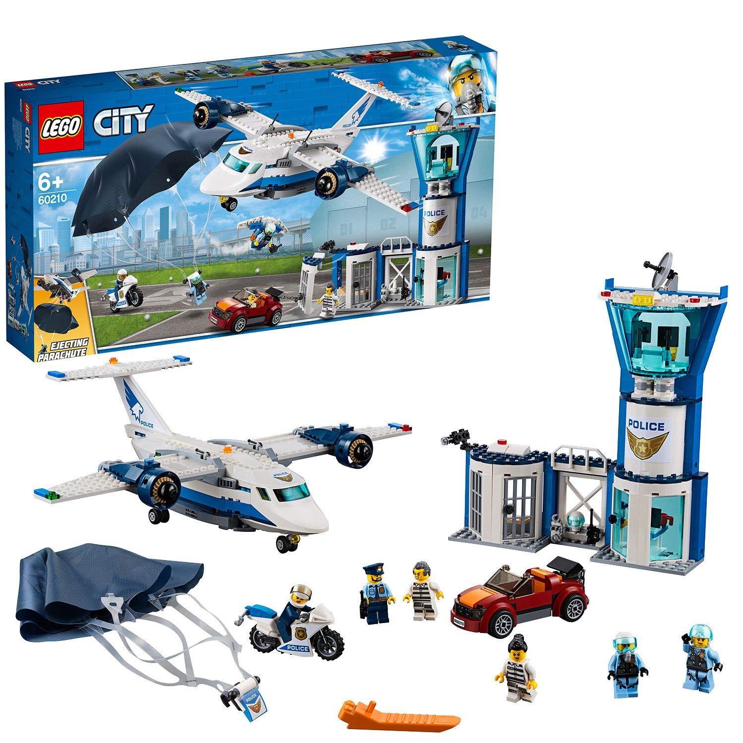 LEGO 60210 City Police Sky Police Air Base Station Set £35.83 @ Amazon