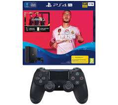 Fifa 20 1TB PS4 Pro Bundle (PS4) + Dualshock 4 £269.98 @ Amazon