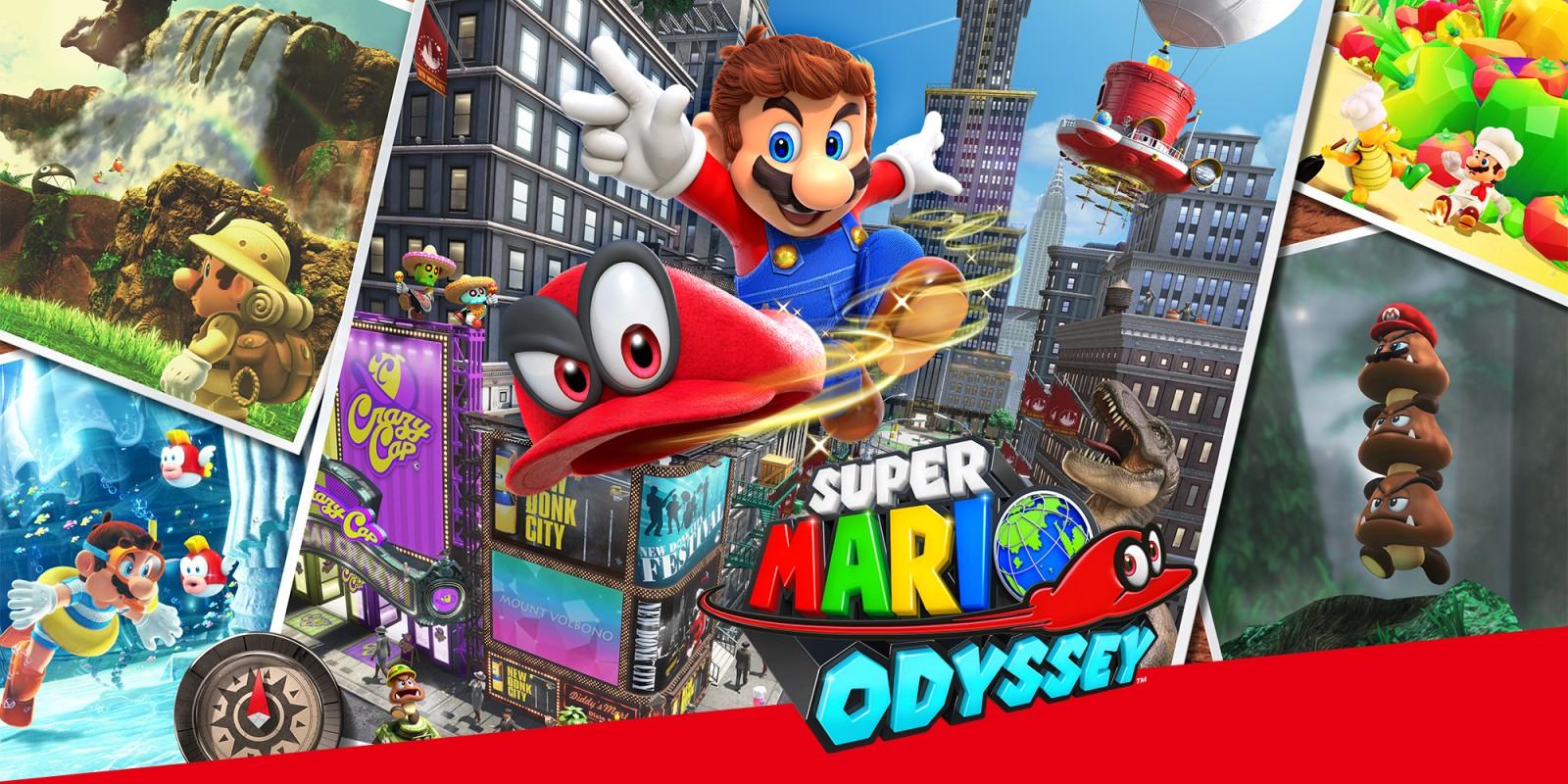 Super Mario Odyssey Nintendo Switch - £34.99 @ Nintendo Eshop