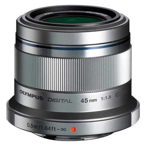 Olympus M.ZUIKO DIGITAL 45mm f/1.8G Standard Lens Silver £194 @ Jessops