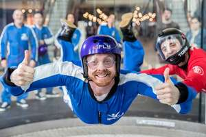 Christmas Bestseller Watch video iFLY Indoor Skydiving Experience for Two £38.98 @ Buy A Gift