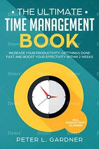 The Time Management Book: with Productivity Planner - Free @ Amazon
