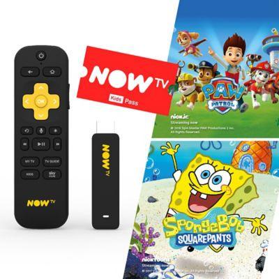 Now TV Smart Stick - 5 Months Kids Pass - £15 @ Asda