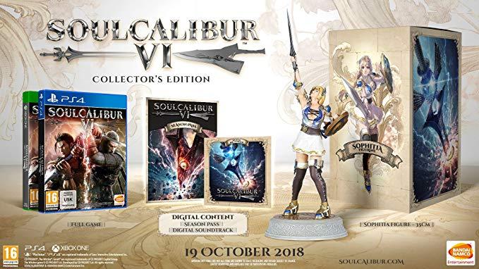 Soul Calibur VI Collector's Edition (Xbox One) - £64.11 @ Amazon