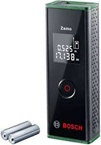 Bosch 0603672702 Laser Measure Zamo (3rd Generation, Measuring Range: 0.15 – 20.00 m, Cardboard Box), 1.5 V - £26.99 @ Amazon