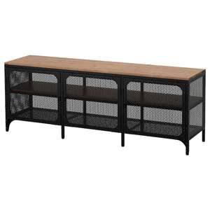 Peachy Fjallbo Tv Bench Black 85 Ikea Hotukdeals Caraccident5 Cool Chair Designs And Ideas Caraccident5Info