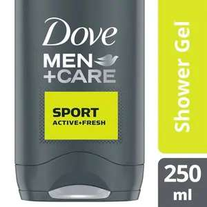 Dove Men + Care Sport Active & Fresh Bodywash 250ml - 99p @ Superdrug