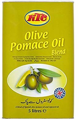 KTC Olive Pomace Oil Blend, 4 x 5L @ Costco £26.99 instore/£30.49 online