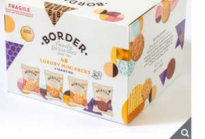 Border Biscuits Luxury Mini Pack Assortment, 48 x 2 Pack £8.49 @ Costco Glasgow