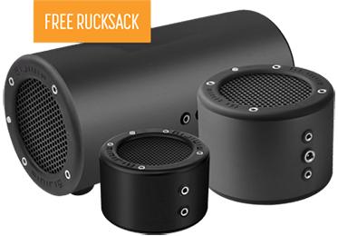 Minirig 3 portable speakers £119.96 @ Minirigs