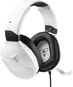 Turtle Beach Recon 200 White Amplified Gaming Headset - Xbox One, PS4, Nintendo Switch and PC £29.99 @ Amazon