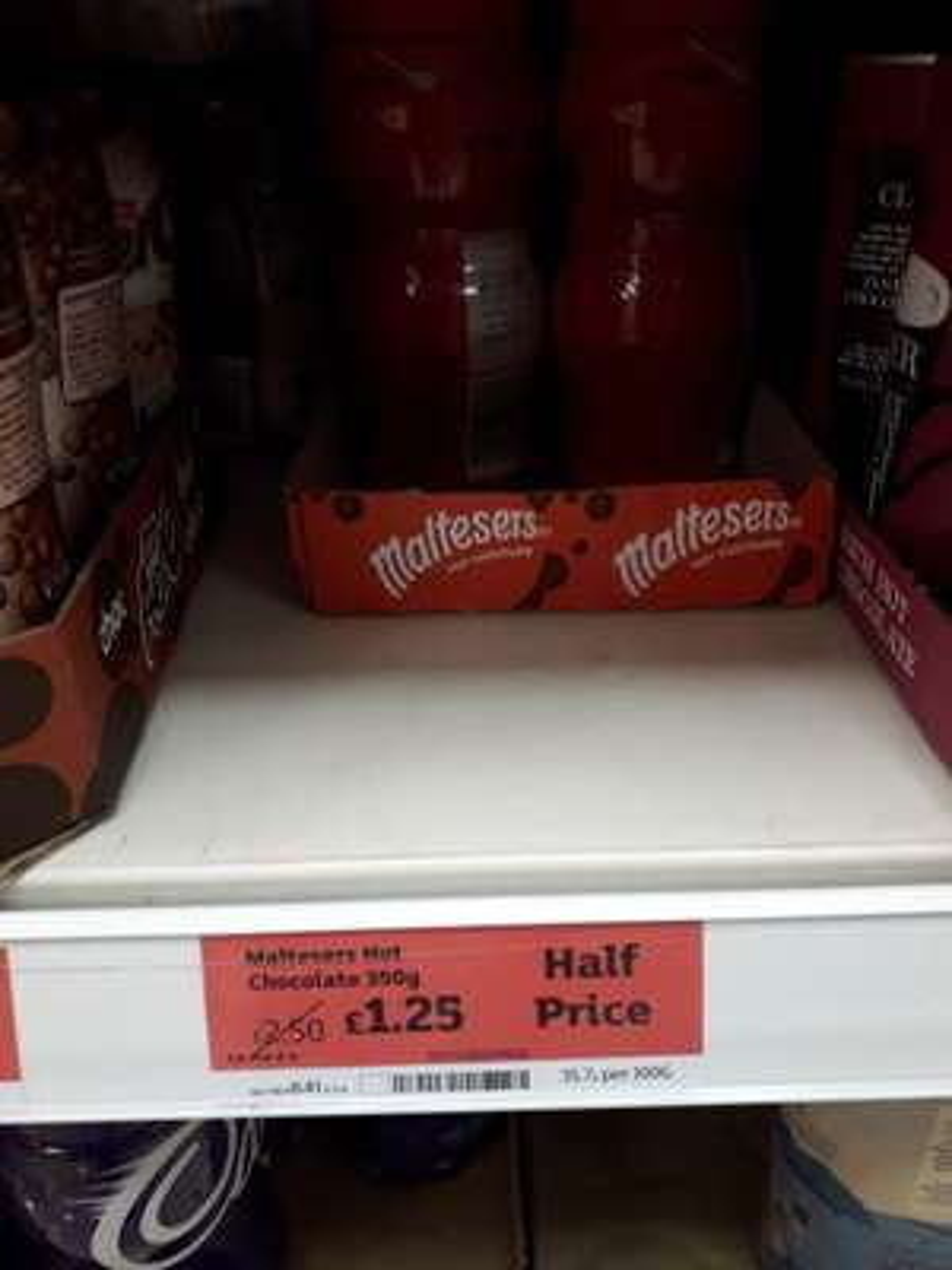 Maltesers hot chocolate £1.25 @ Sainsburys