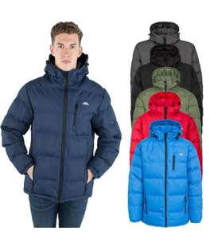 Trespass Clip Mens Padded Jacket £27.99 @ TrespassOutleteBay