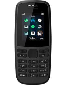 Nokia 105 V5 for £5 - with £10 Vodafone Sim Card (+ Possible £5 TCB) @ Carphone Warehouse