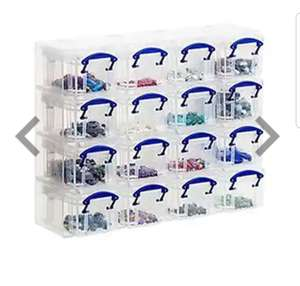 Really Useful Box - 16 Box Organiser x 2 £14 at The Works (free C&C with code)