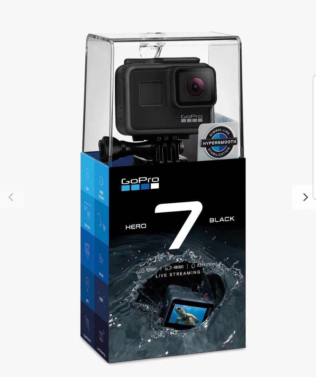GoPro Hero 7 Black £270 @ John Lewis & Partners