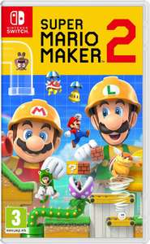 Nintendo Switch: Super Mario Maker 2 £36.99 @ Amazon