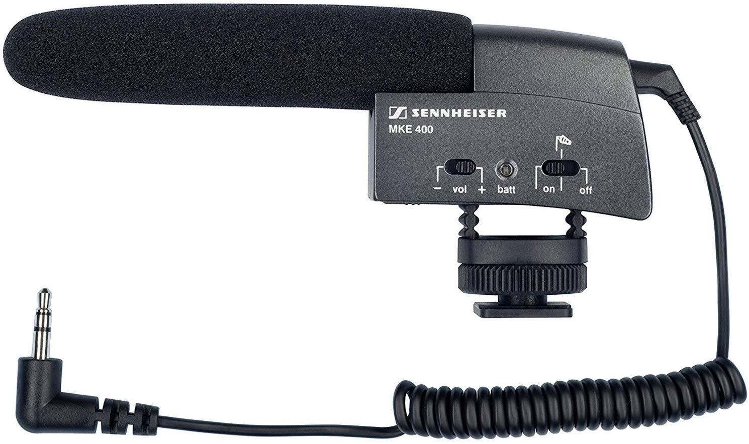 Sennheiser MKE 400 Shotgun Microphone for DSLR or Camcorder £84 @ Amazon