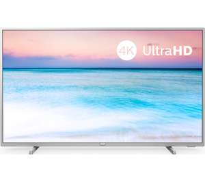"""PHILIPS 50PUS6554/12 50"""" Smart 4K Ultra HD HDR LED TV [Energy efficiency class A+] £329 @ Currys PC World"""