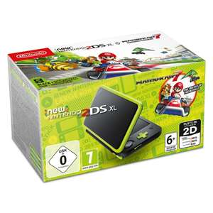 New Nintendo 2DS XL Console Black and Lime Mario Kart Pack £94.99 @ Smyths Toys (Free Click & Collect)