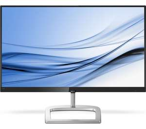 "PHILIPS 246E9QJAB/00 Full HD 23.8"" LED Monitor - Black & Silver - £99.99 at Currys PC World"