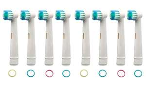 4, 8, 12 or 16 pack of Oral-B-Compatible toothbrush head - Standard, dual action or floss action - Groupon from £1.98 + £1.99 delivery