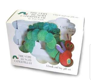 The Very Hungry Caterpillar: Book and Toy Gift Set £7 @ Amazon Prime / £9.99 Non Prime