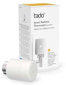 tado° Smart Radiator Thermostat (vertical mounting) at Amazon for £42.99
