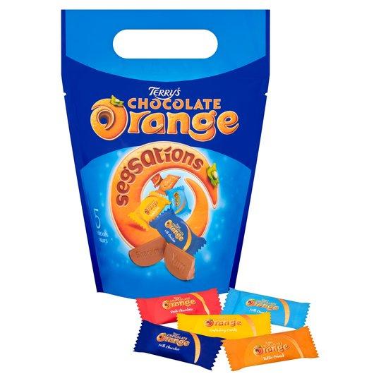 Terrys Chocolate Orange Segsations Pouch 400G £2.50 @ Tesco