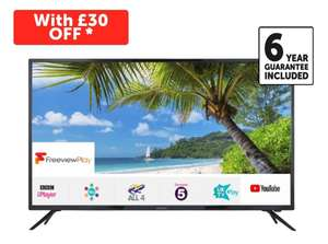 Linsar 65UHD8000FP 65 inch 4K HDR Smart LED TV with 6 Year Warranty @ Richer Sounds for £419