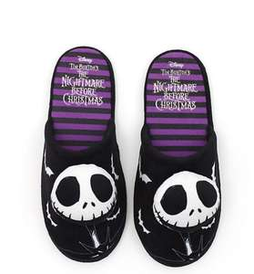 The Nightmare Before Christmas Slippers Now £7 delivered size S, M, L at Disney - ShopDisney