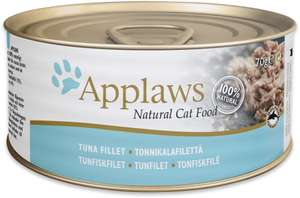 Applaws Cat Tin Multipack Supreme Selection, 70 g,(Pack of 4 x 12 ) £12.76 Prime / £17.25 Non Prime at Amazon