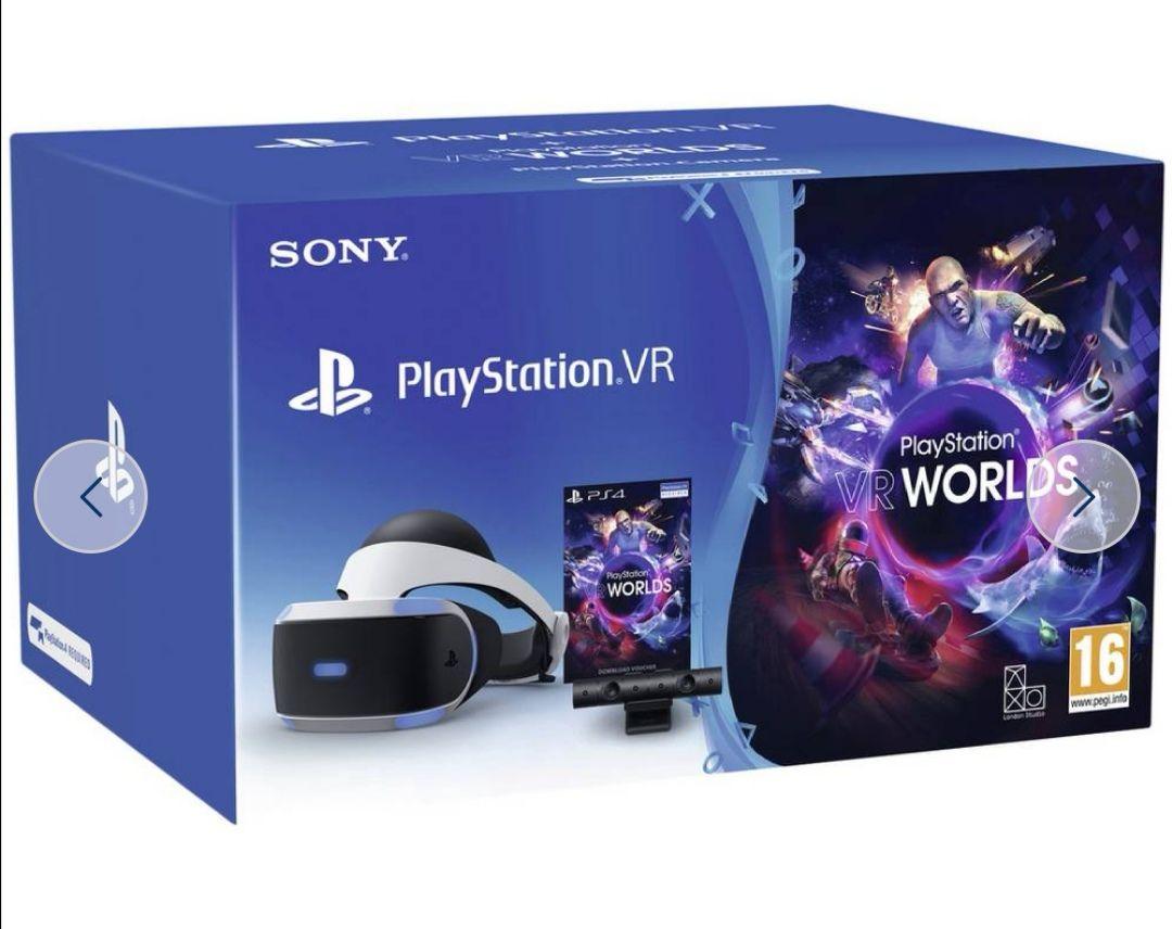 PS VR with VR Worlds Mega Starter Bundle £179.99 @ Argos