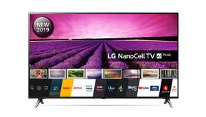 LG 55SM8500PLA - 55 Inch UHD 4K HDR Smart NanoCell LED TV with Freeview Play - Black (2019 Model) - £619 at Amazon