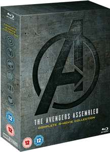 Avengers: 1-4 Complete Blu-ray Box Set - £22.59 Delivered with 10% off Newsletter Sign up @ Shop Disney