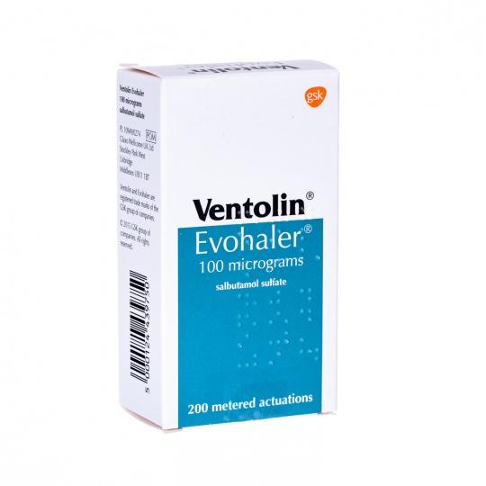 Ventolin Blue Asthma Inhalers 3 for 16.80 (cheaper than a prescription) @ UK Meds