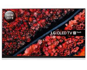 "LG OLED55E9PLA (2019) OLED HDR 4K Ultra HD Smart TV 55"" HD Picture-On-Glass Design & Dolby Atmos 5 Year Guarantee £1,599 at Crampton & Moore"
