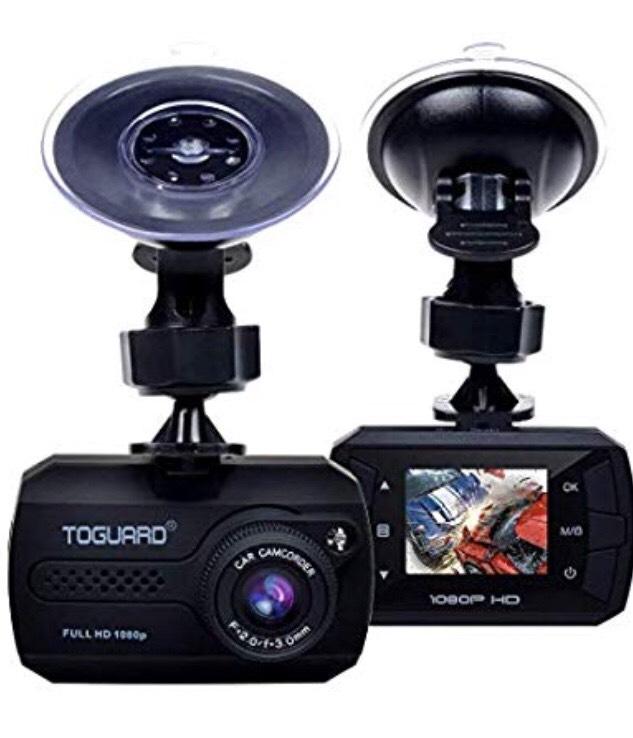 TOGUARD Mini Dash Cam Full HD 1080P £12.98 Prime / £17.47 Non Prime at Amazon Warehouse
