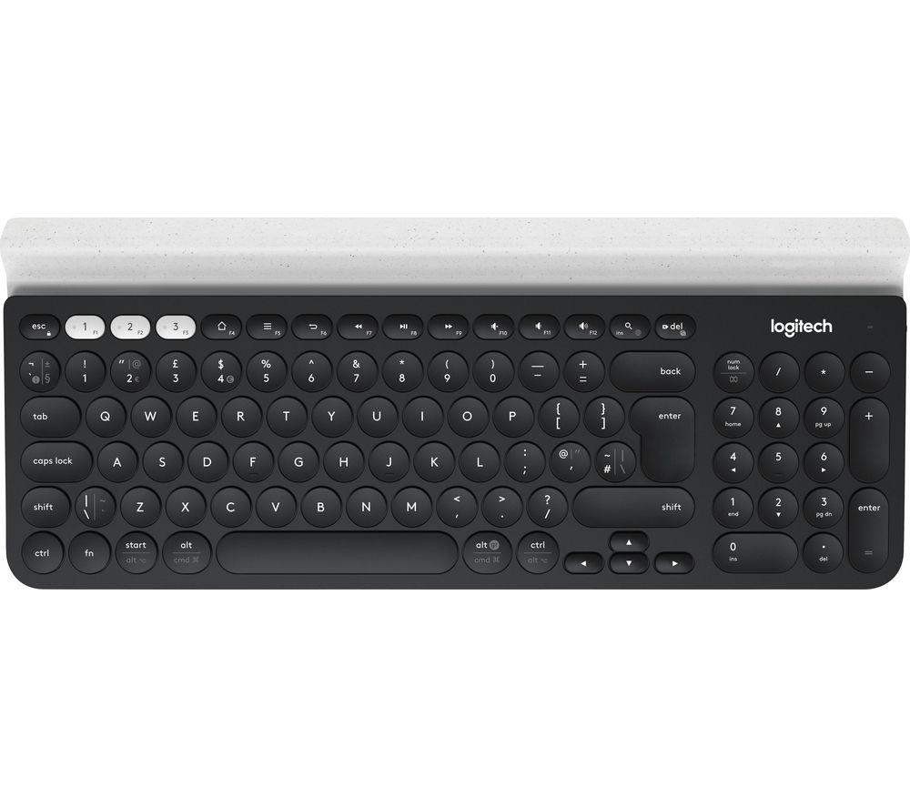 Logitech K780 Multi-Device Wireless USB, Bluetooth , Wireless Keyboard, £30.39 at Currys PC World