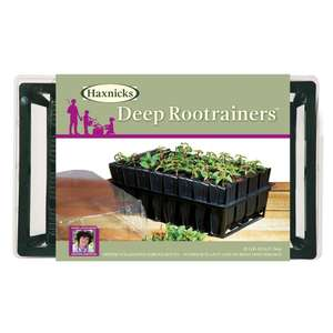 Haxnicks deep root trainer 32 cell £5 instore @ Homebase