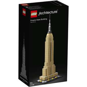 LEGO Architecture: Empire State Building (21046) £58.39 @ IWOOT