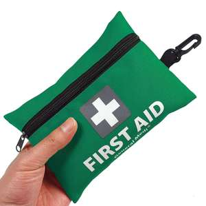General Medi Mini First Aid Kit,92 Pieces Small First Aid Kit £6.50 Prime / £10.99 Non Prime Sold by General Medika and Fulfilled by Amazon