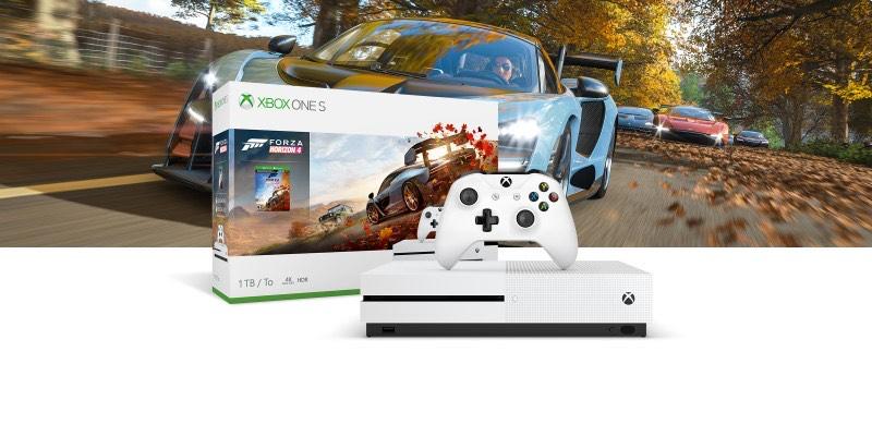 Xbox One S 1TB with Forza Horizon 4 £144.90 at Microsoft (Germany)