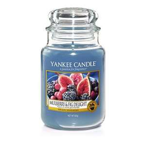 Yankee Candle Large Jar Scented Candle, Mulberry and Fig £11.99 Prime / £16.48 Non Prime @ Amazon